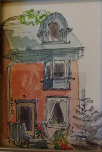 Victorian house in TO